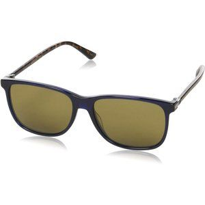New Unisex Gucci Blue Havana Sunglasses
